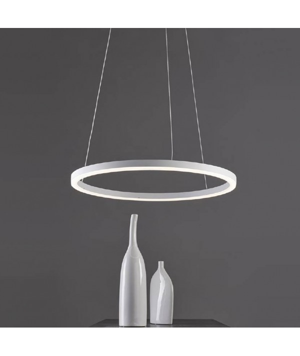 Lampada moderna a sospensione Hurricane 1 in alluminio