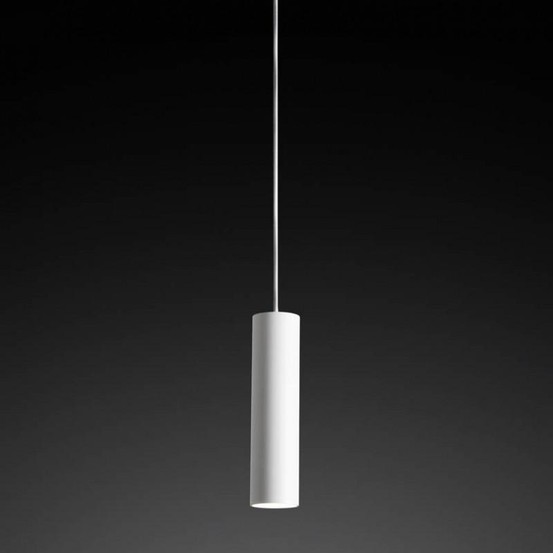 Lampada moderna a sospensione Bamboo in alluminio