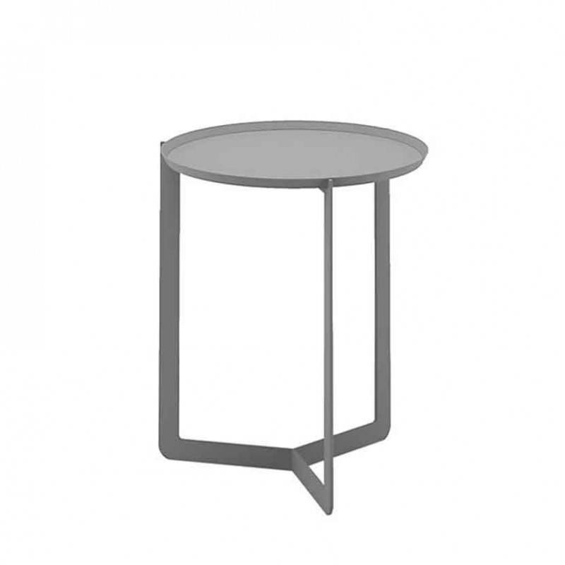 Tavolino da salotto Round 1 in metallo pioggia