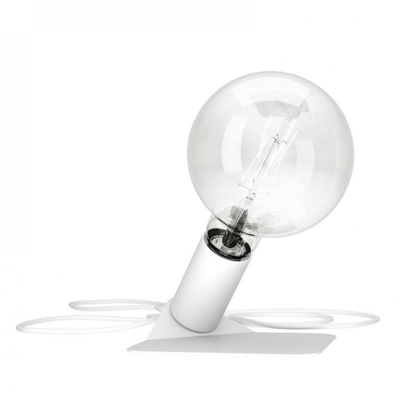 Lampada in metallo Magnetico bianco di Filotto