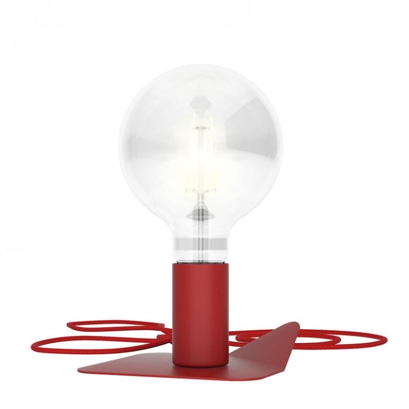 Lampada in metallo Magnetico di Filotto color rosso