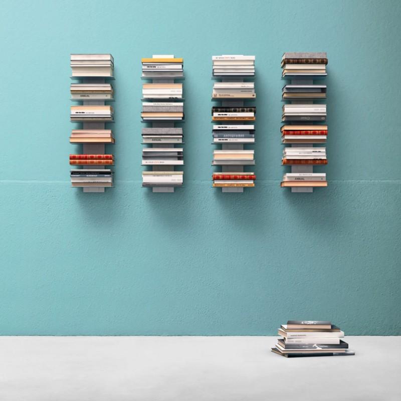 Libreria Press di Alf DaFre' in metallo bianco opaco