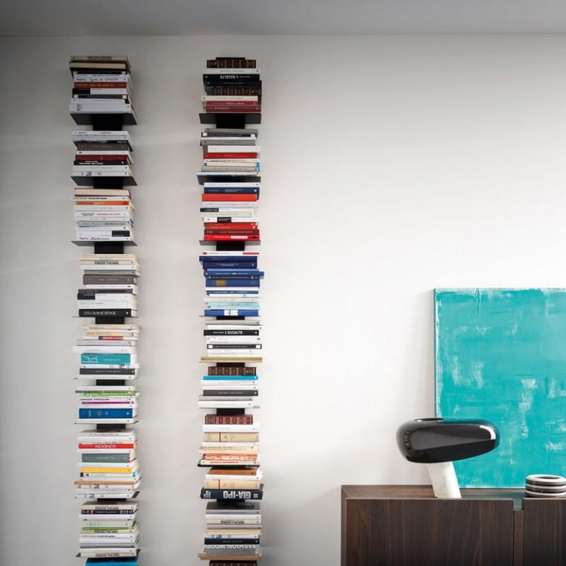 Libreria Press di Alf da Fre in metallo nero opaco