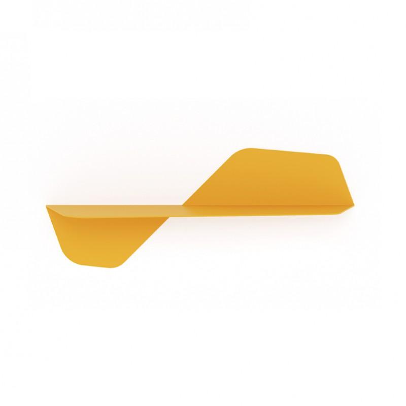 Mensola Flap in metallo giallo maya