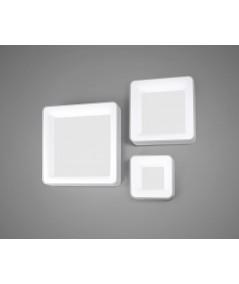 lampada a parete e soffitto Inner S di vivida di colore bianco