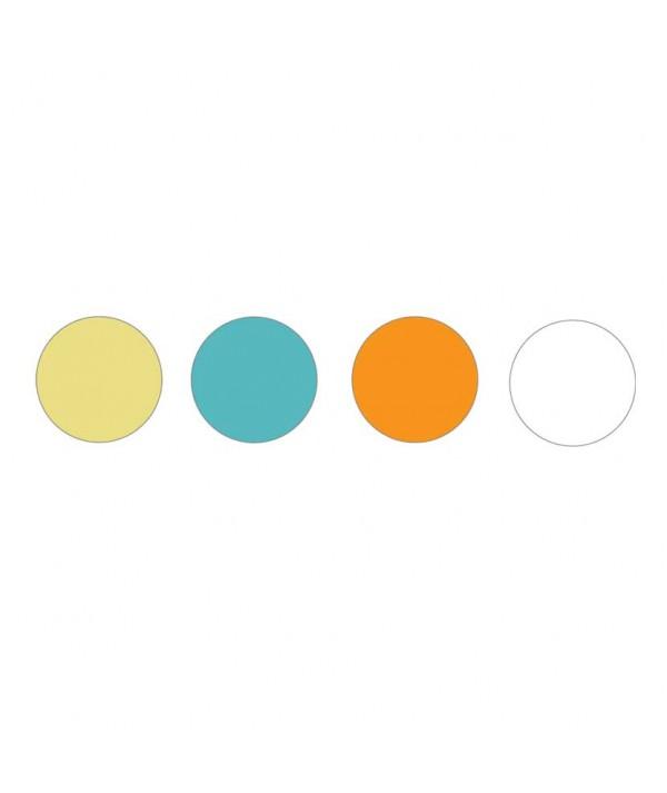Set 4 Sedie con Braccioli cartella colori