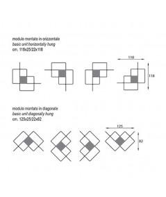 Libreria Mondrian istruzioni di montaggio