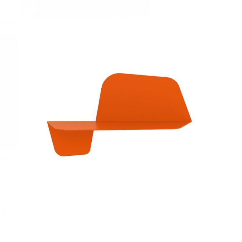mensola flap 600 in metallo color zucca