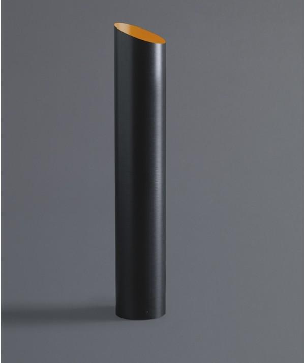 Lampada da tavolo Slice in fibra di carbonio interno arancio