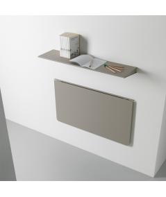 scrivania mensola richiudibile in alluminio di pezzani ambientata