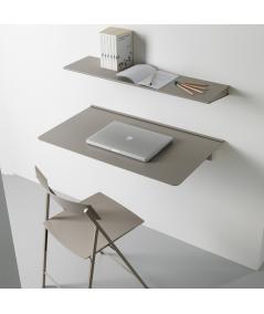 scrivania mensola richiudibile in alluminio di pezzani