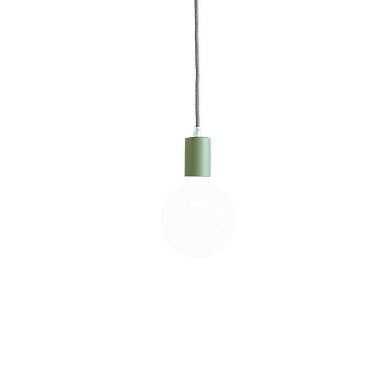 Lampada filotto metallico verde