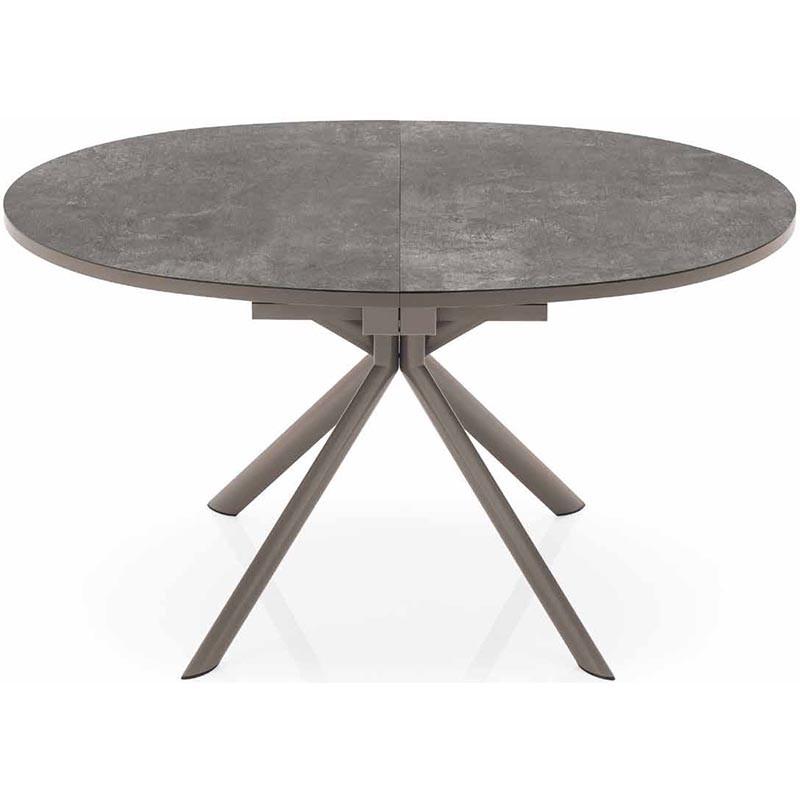 tavolo giove allungabile ceramica piombo chiuso
