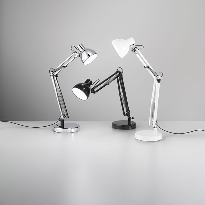 lampada da tavolo orientabile di prenz