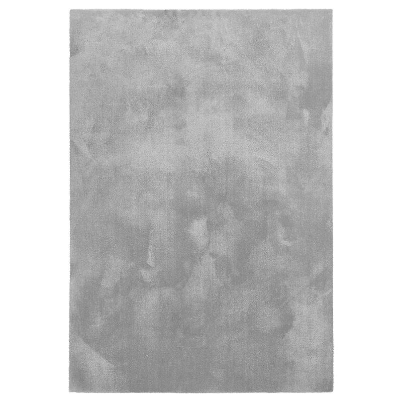 tappeto touch grigio chiaro di de dimora