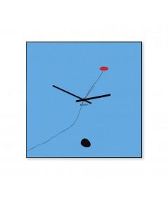 Orologio mirò di dESIGNoBJECT in metallo verniciato azzurro