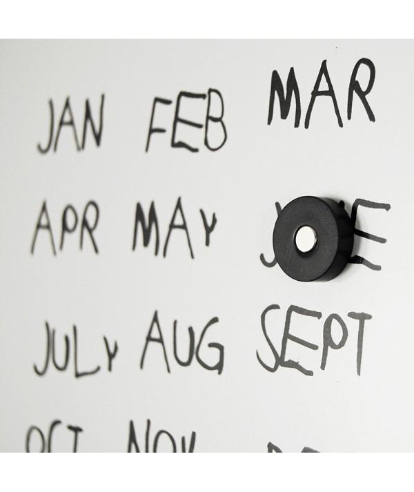 Calendario perpetuo Krok 2 Black di dESIGNoBJECT  calendario