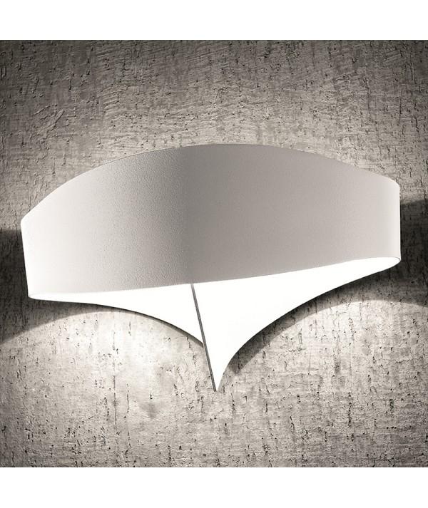 Applique scudo di Selène bianco