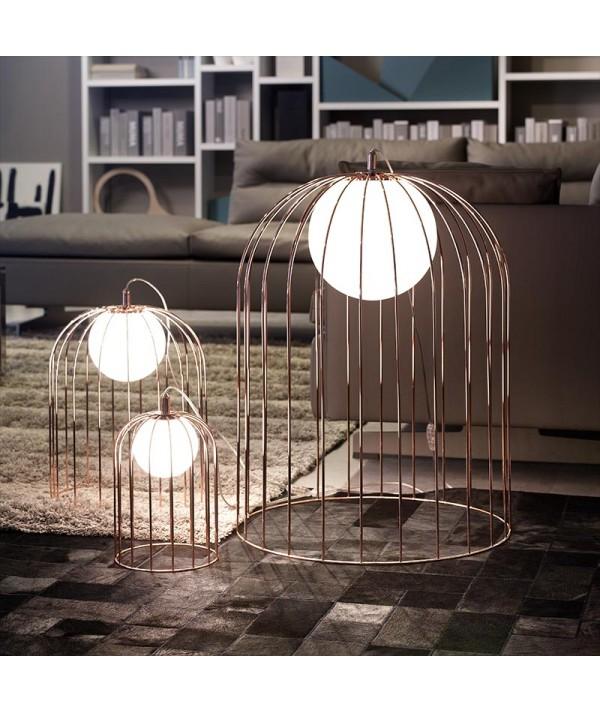 lampade da tavolo kuvlì di selène rame