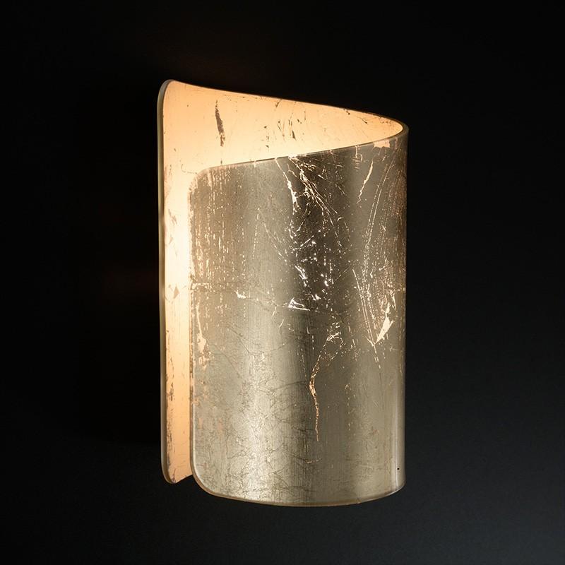 applique papiro di selène con decoro foglia oro