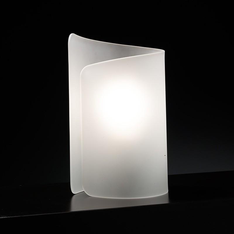 lampada da tavolo lumetto papiro di selène satinato