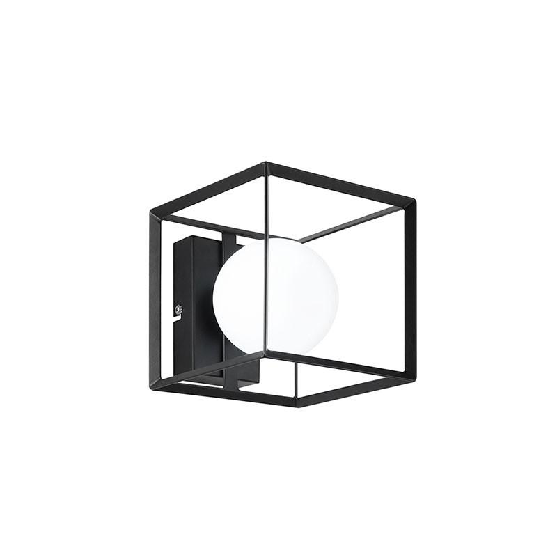 Applique Cube Nero di Perenz