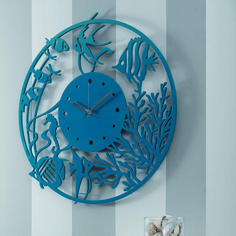 Orologio da parete Profondo Blu de I-Dettagli