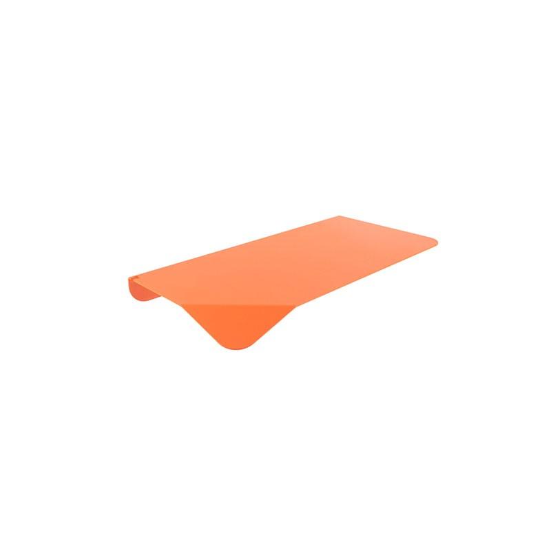 Mensola Arancione di Filotto realizzata in metallo