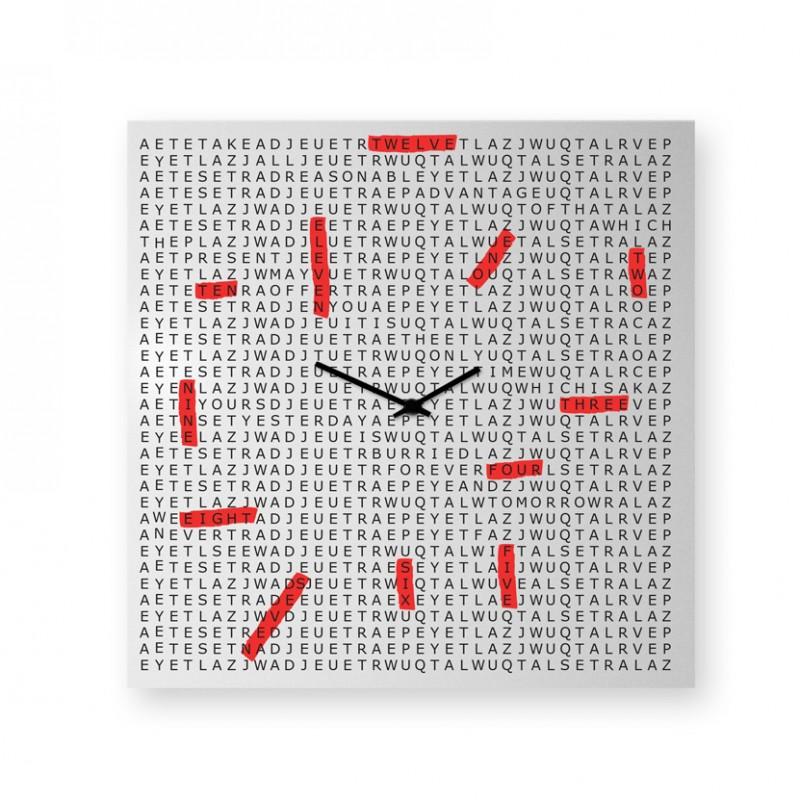 Orologio da parete Crossword