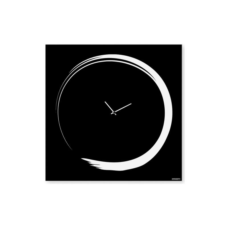 Orologio da parete          S-ENSO in metallo nero