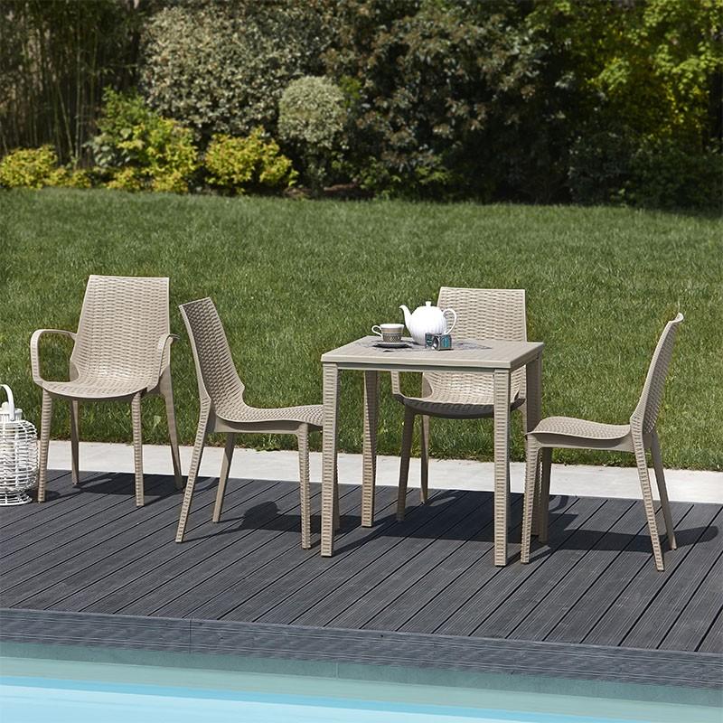 Set 4 sedie Lucrezia con Braccioli