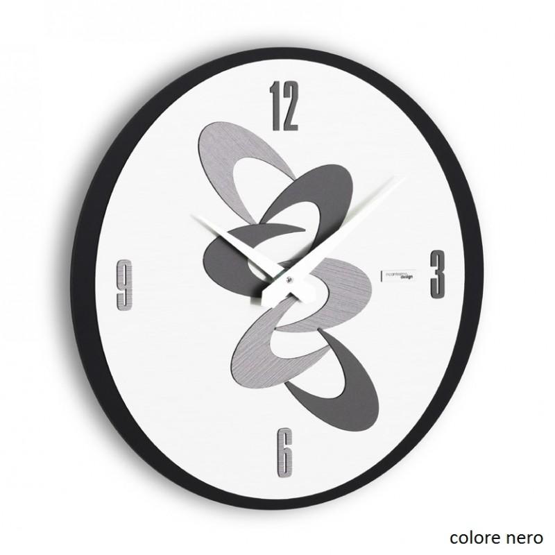 Adsum orologio da parete di colore nero