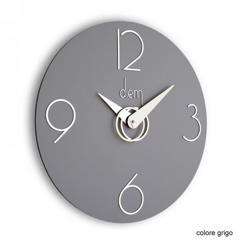 Orologio da parete Diem grigio