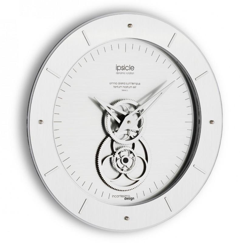 L'orologio da parete Ipsicle colore metal