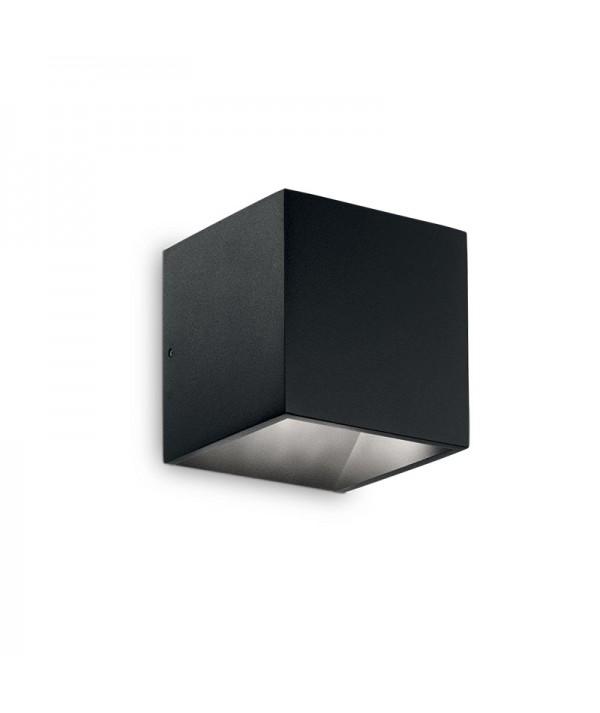 Applique da esterno Rubik Piccola nera