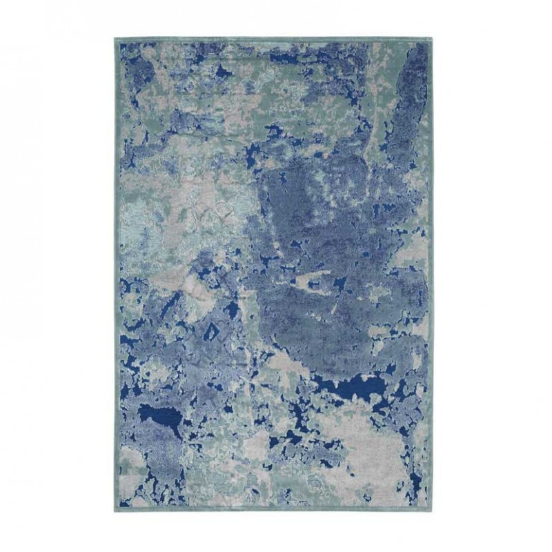 Tappeto Antigua  Azzurro-Blu