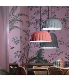 lampade a sospensione di ferroluce in ceramica colorata ambientata
