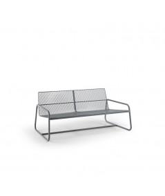 divano da esterno Lolita di memedesign in acciaio pioggia