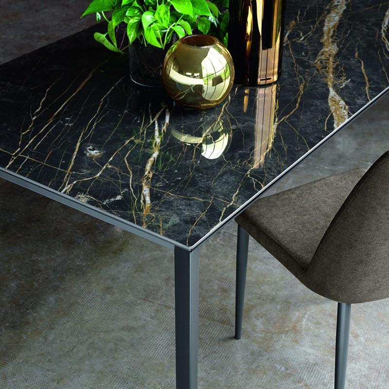 tavolo allungabile Galileo noir desir Friulsedie