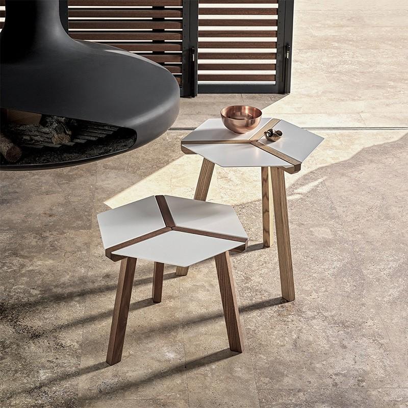 Tavolino Esa bianco