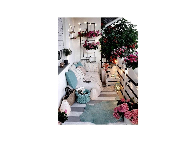L'arredamento di terrazzi e balconi è smart & green.